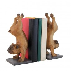 Flipping Dog Bookends